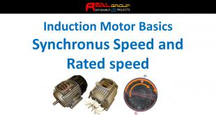 Quan hệ giữa tốc độ đồng bộ và tốc độ định mức trong động cơ cảm ứng 3 pha