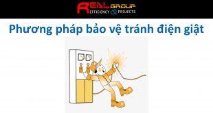 Phương pháp bảo vệ tránh điện giật