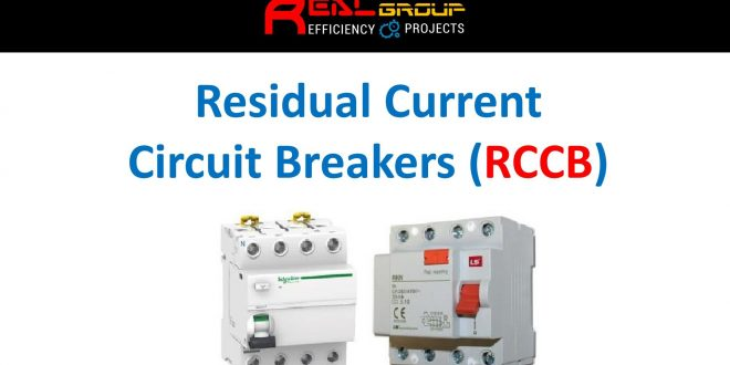 Residual Current Circuit Breakers (RCCB)