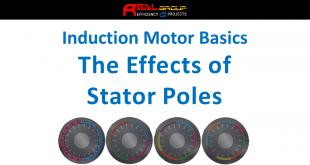 Sự ảnh hưởng về số cực của stator trong động cơ cảm ứng 3 pha